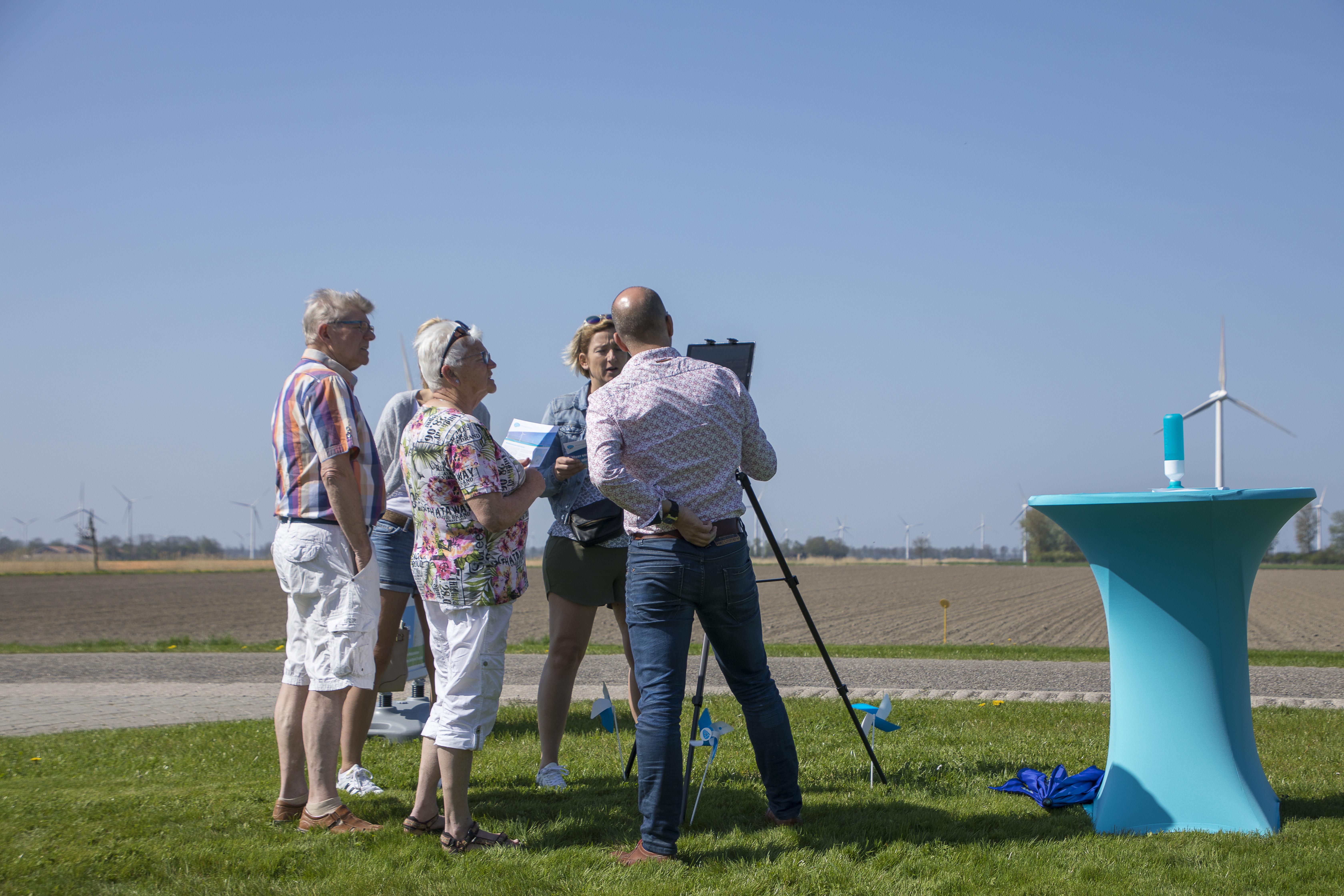 Open Winddag Windplanblauw trok veel bezoekers