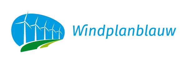 Windplanblauw