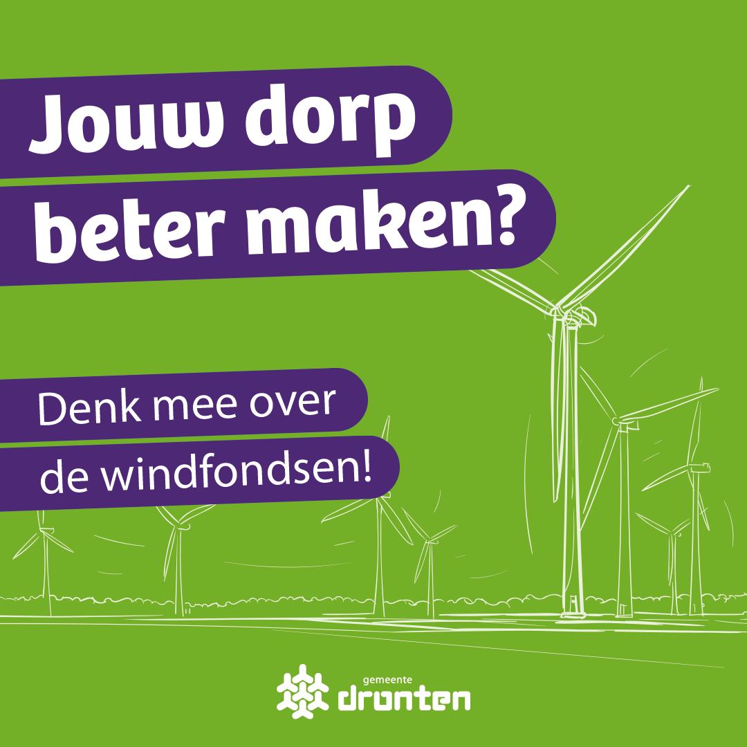 Meedenken over gebiedsfondsen Windparken