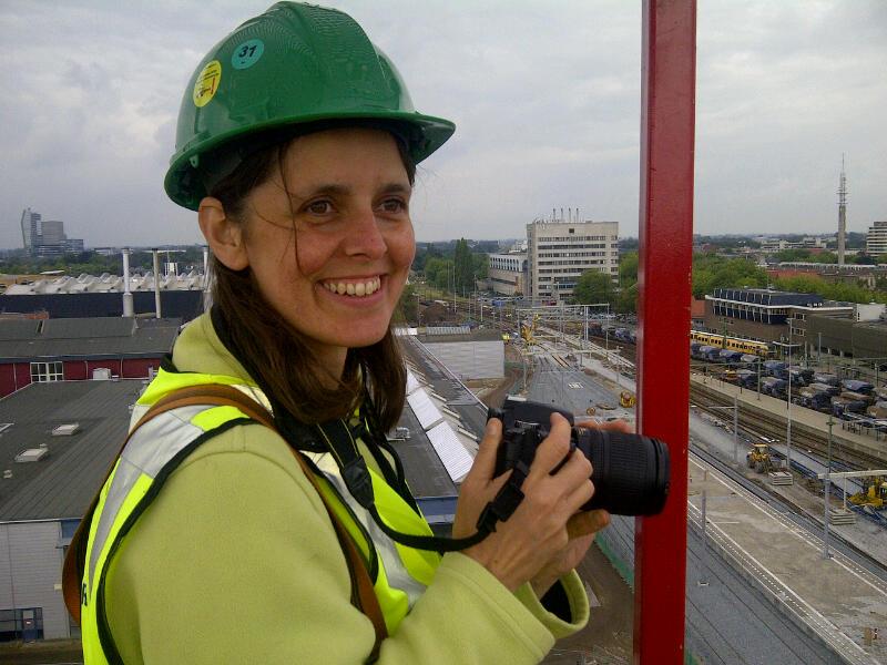 Vrouwen in de techniek en aan het werk voor Windplanblauw
