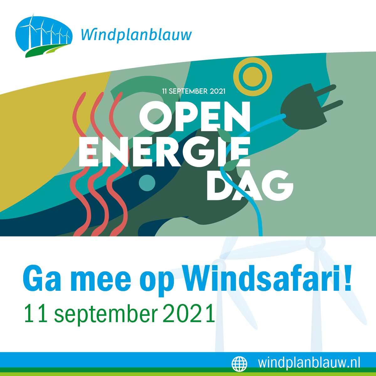 Ga je mee op Windsafari tijdens de Open Energiedag